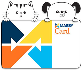 donate your Massy Points to Ocean Acres Animal Sanctuary