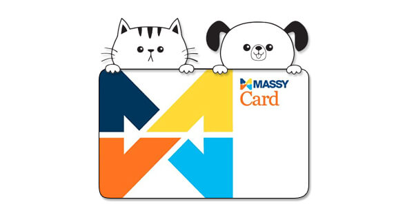 donate your Massy Points to support animal rescue